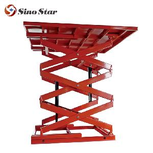 Scissor car lift platform